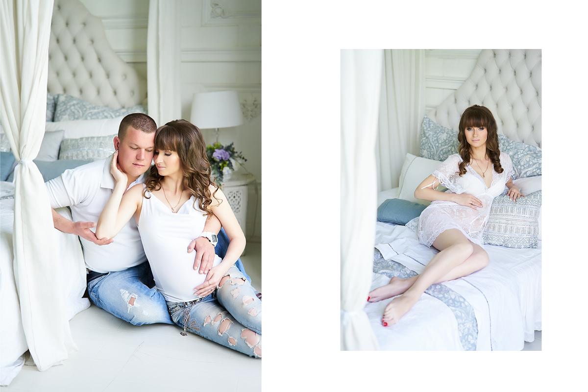 Образ для фотосессии для беременных 96
