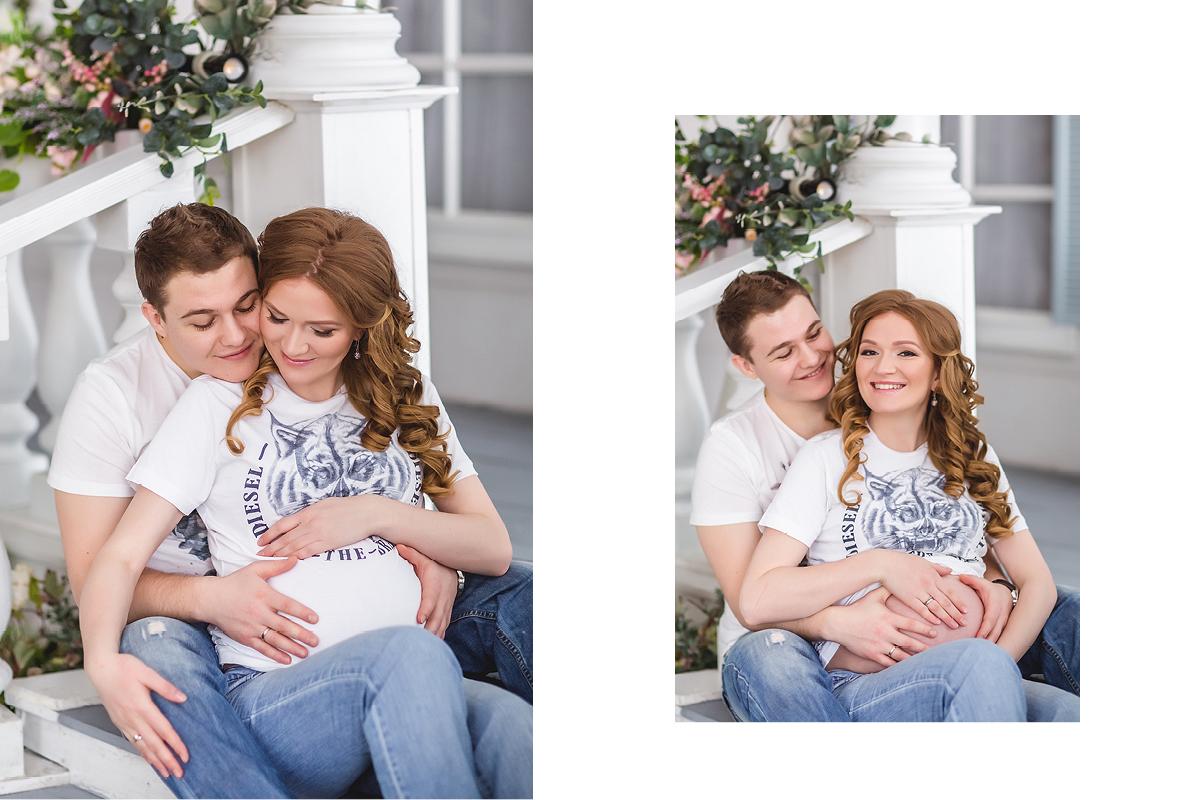 Фотосессии беременных с мужем екатеринбург