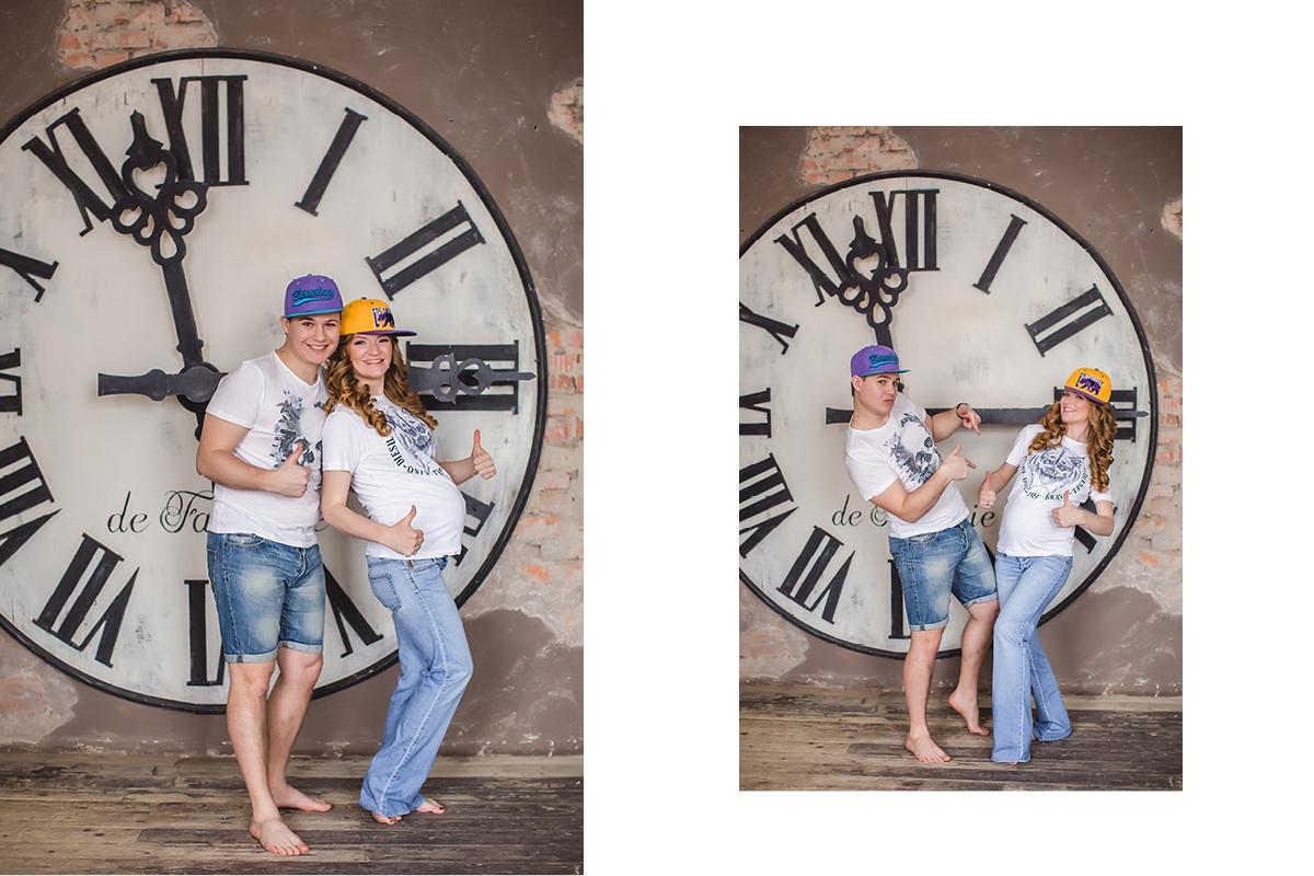 фотосессия беременных, в ожидании чуда с мужем